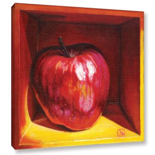 ArtWall Paige Wallis Red Delicious Gallery wrapped Canvas   17603733