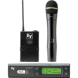 Electro Voice RE 2 UHF Wireless Combo Microphone F.01U.146.105