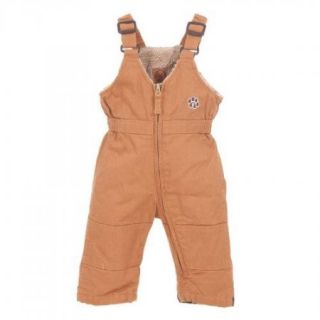 Berne BB22MBDR260 Infant Washed Insulated Bib Overall Size 18M