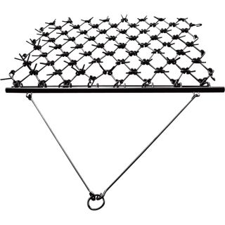 NorTrac Harrow Rake for Cleaning, Leveling Soil and Stimulating Growth — 96in.W x 47 1/4in.L  Category 0 Disc Harrows   Rakes