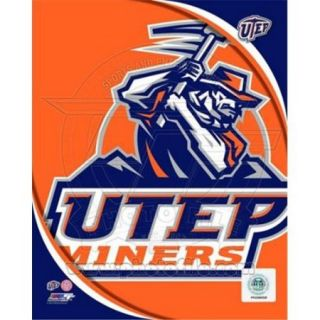 Photofile PFSAAOK08101 University of Texas El Paso Miners Team Logo Poster by Unknown  8. 00 x 10. 00