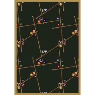 Joy Carpets Snookered Area Rug