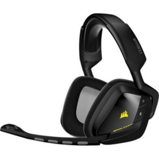 Corsair Void Wireless Dolby 7.1 Gaming Headset   Surround   Black   Wireless   40 Ft   32 Ohm   20 Hz   20 Khz   Over the head   Binaural   Circumaural (ca 9011132 na)