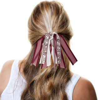 Mississippi State Bulldogs Womens Fantasy Fan Tail Scrunchie