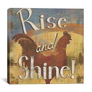 iCanvas Rise and Shine by Daphne Brissonnet Graphic Art on Cavas; 37 H x 37 W x 0.75 D