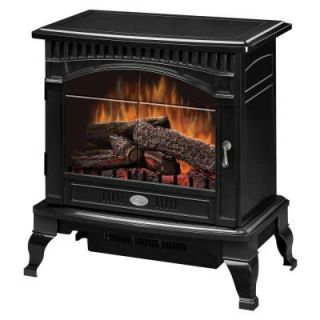 Dimplex Traditional 400 sq. ft. Electric Stove in Gloss Black DS5629GB