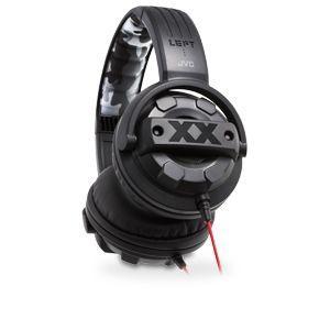 JVC HA M5X XX Series Stereo Headphones   50mm Neodymium Driver Units, Bass Ports, Rubber Protectors, Memory Foam Earpads, 3.93ft Cord, Gold Plated 3.5mm Stereo Plug