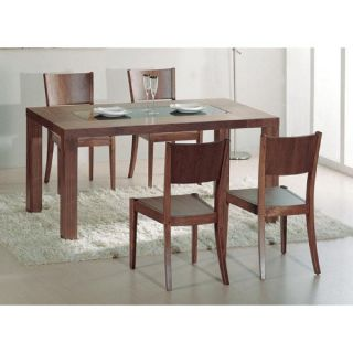 Beverly Hills Furniture Stark Table Stark Dining Table in Walnut