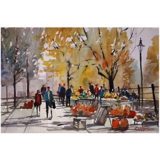 "Trademark Art ""Farm Market   Menasha"" Canvas Art by Ryan Radke"