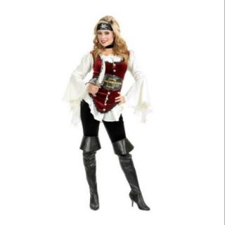 Deluxe Pirate Lady Womens Costume
