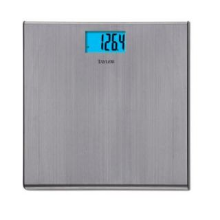 Ozeri Precision Digital Bath Scale with Widescreen LCD and StepOn Activation ZB18 W