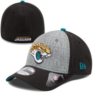 69f68121f4a Jacksonville Jaguars New Era NFL Draft 39THIRTY Flex Hat Black