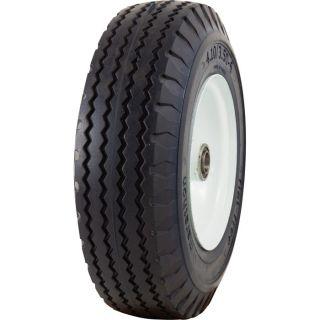 Marathon Tires Flat-Free Hand Truck Tire — 3/4in. Bore, 4.10/3.50–6in.  Flat Free Hand Truck Wheels