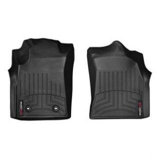 WeatherTech   WeatherTech DigitalFit Floor Liners, Front (Black) 445121   Fits 2012  to 2013 Toyota Hilux