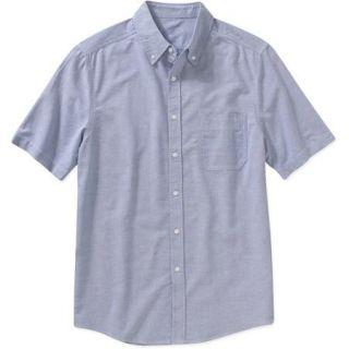 George Big Men's Short Sleeve Oxford Shirt