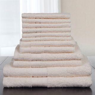 Somerset Home 12 Piece 100 Percent Cotton Towel Set