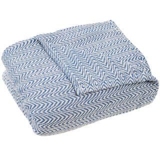 Windsor Home Chevron 100 percent Egyptian Cotton Blanket   18180651