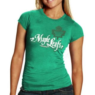 NHL Rinkside Toronto Maple Leafs Womens 2012 St. Patricks Lucky T Shirt
