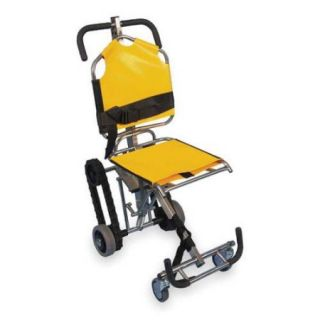 EVAC CHAIR 700H Stair Chair, 350 lb. Cap., Yellow