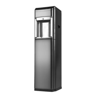 Bottom Loading Hot and Cold Free Standing Water Dispenser in Graphite
