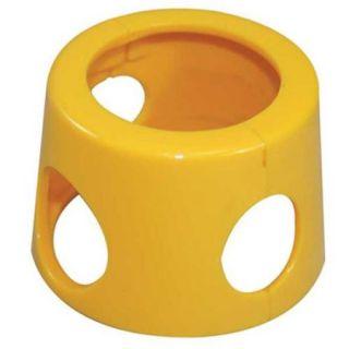 LABEL SAFE 920309 Premium Pump Replacement Collar, Yellow G1353572