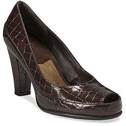 A2 by Aerosoles Womens Big Ben Brown Pumps   Shopping