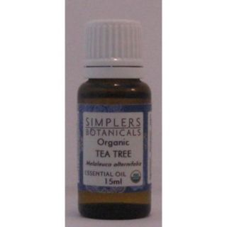 Essential Oil Tea Tree Organic Simplers Botanicals 15 ml Liquid