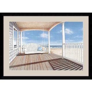 Daniel Pollera The Porch Swing Framed Art Print   13842912