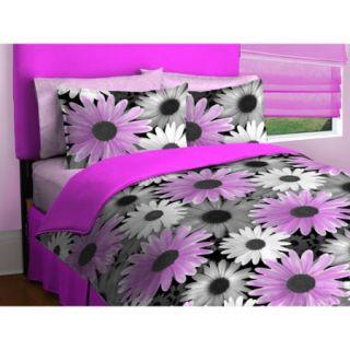 Photo Real Daisy Bedding Comforter Set
