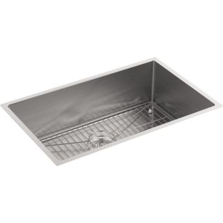 Kohler K 5409 NA Strive No Finish  Undermount Single Bowl Kitchen Sinks