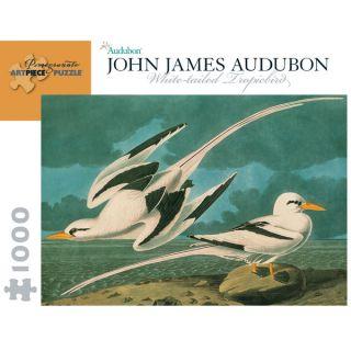 John James Audubon White Tailed Tropicbird 1000 piece Puzzle