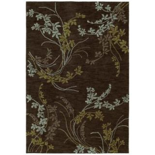 Kaleen Inspire Vision Chocolate 5 ft. x 7 ft. 6 in. Area Rug 6406 40 5 x 7.6