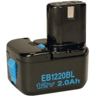 Hitachi EB1220BL 12 Volt 2.0Ah Ni Cad Post Battery 320386