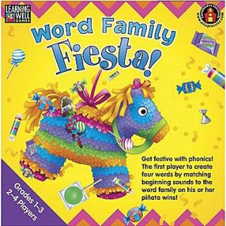 Edupress Word Family Fiesta Game, Blue Level, Grades 3rd   4th
