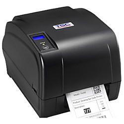 TSC Auto ID TA200 Direct ThermalThermal Transfer Printer Monochrome Desktop Label Print