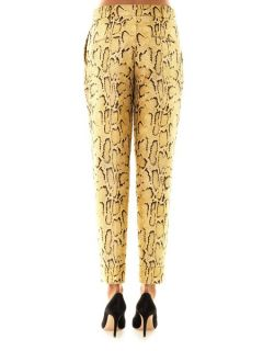 Frankie snake jacquard tailored trousers  Stella McCartney US