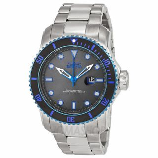 Invicta Pro Diver Grey Dial Stainless Steel Mens Watch 15077   Pro