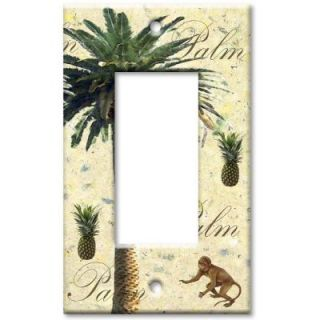 Art Plates Palm Tree Rocker Wall Plate R 28