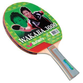 Butterfly Wakaba 3000 Racket   Fitness & Sports   Family Recreation