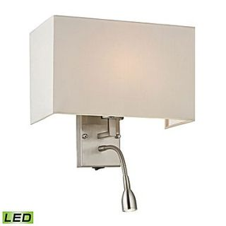 Elk Lighting Dixon 58217154 2 LED9 15 x 11 1 Light Wall Sconce, Brushed Nickel