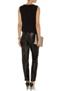 Anders leather tapered pants  Alice + Olivia