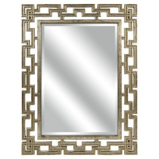 Aurora Decorative Wall Mirror   Gold (40 X 30)