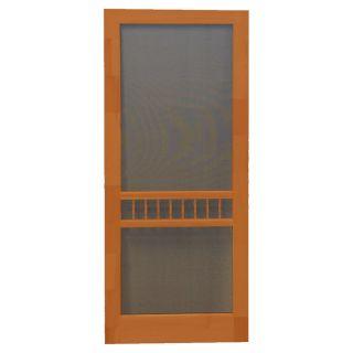 Screen Tight Arbor Redwood Wood Screen Door (Common: 32 in x 80 in; Actual: 32 in x 80 in)