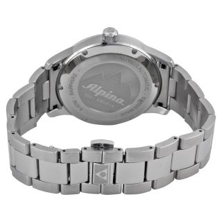 Alpina Alpiner Automatic Black Dial Stainless Steel Mens Watch Item
