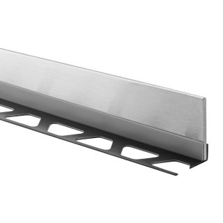 Schluter Systems 0.188 in W x 63 in L Steel Commercial/Residential Tile Edge Trim