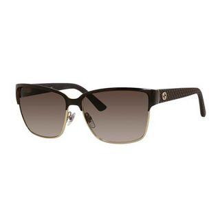 Gucci Womens 4263/S Metal Rectangular Sunglasses   17246880