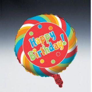 "18"" Foil Helium Metallic Balloon Sugar Buzz"