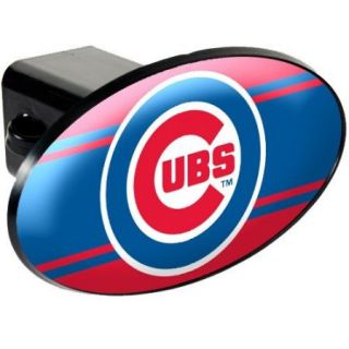 Chicago Cubs Trailer Hitch Cover   Plastic