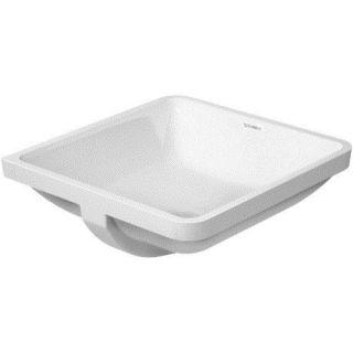 Duravit 0305430000 Starck 3 17 Vanity Basin in White without Tap Platform