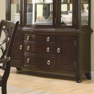 Coaster Furniture 103534B Meredith 3 Drawers Buffet in Espresso